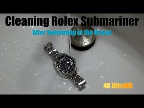 Rolex Submariner Care After Swimming in Ocean