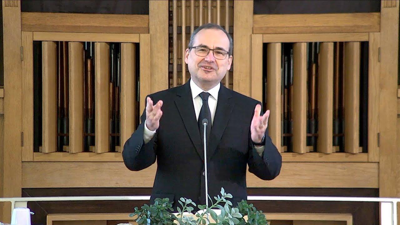 Chief Apostle Schneider in Strasbourg, France | January 17, 2021