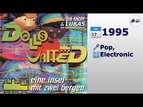 🎵 Dolls United - Eine Insel Mit Zwei Bergen (Radio Edit) (1995) (4K 👀Visualization)