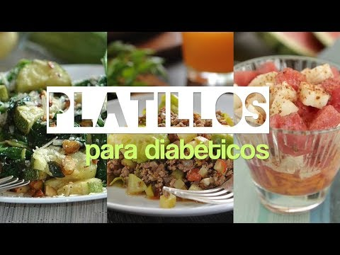 recetas de diabetes para congelar