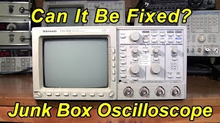 Junk Box Oscilloscope, Can It Be Fixed?