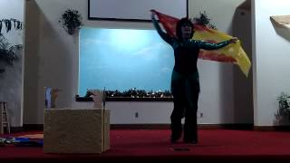 Show Me Your Face Lord, dance by Christy, song by Paul Wilbur