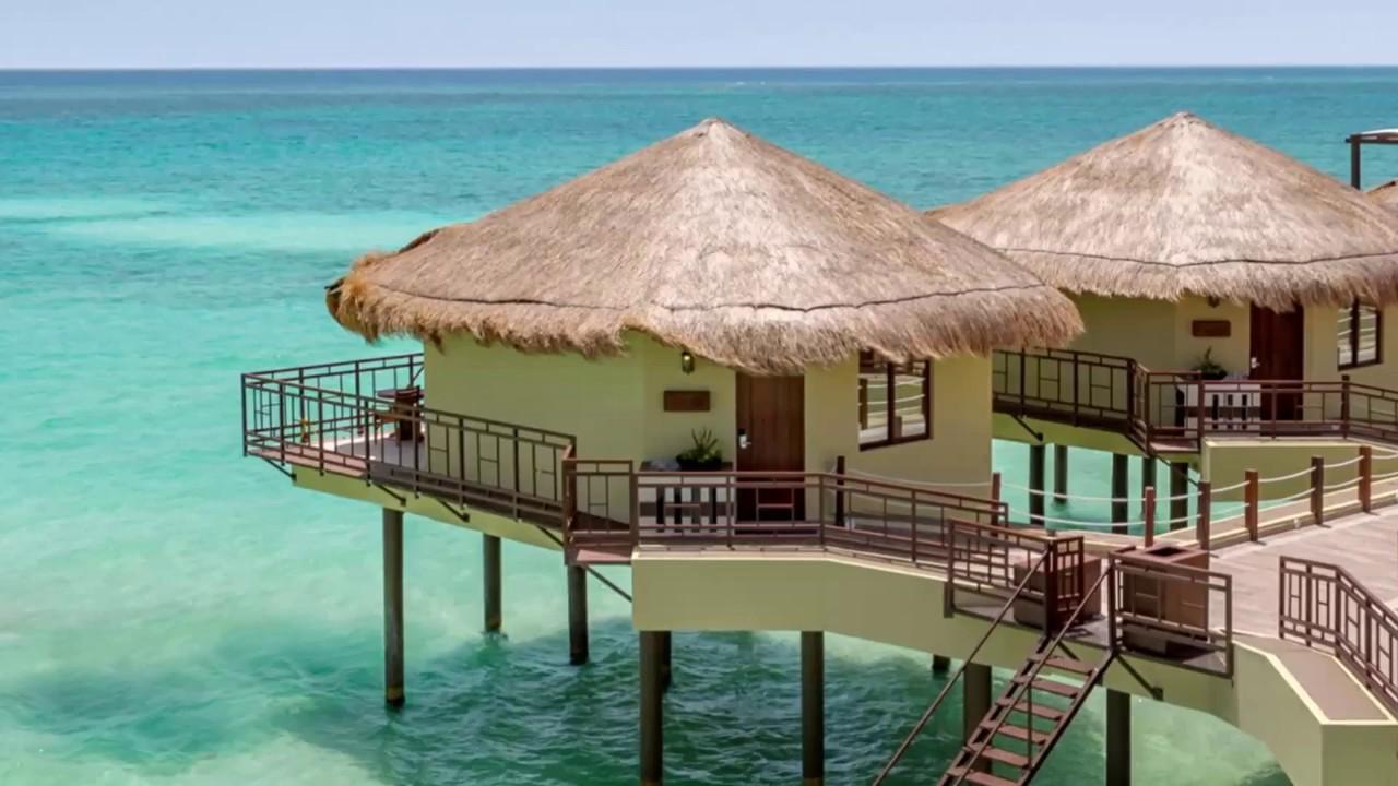 Palafitos Overwater Bungalows Mexico El Dorado Maroma Luxury Resort