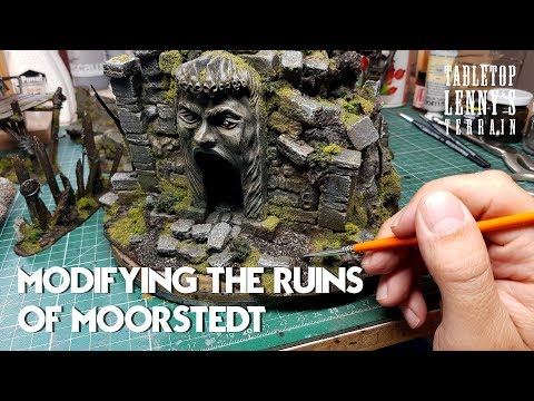 Modifying The Ruins Of Moorstedt
