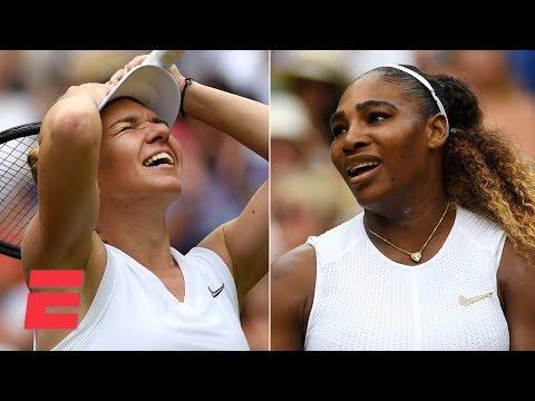 Simona Halep dominates Serena Williams to win Wimbledon title | 2019 Wimbledon Highlights