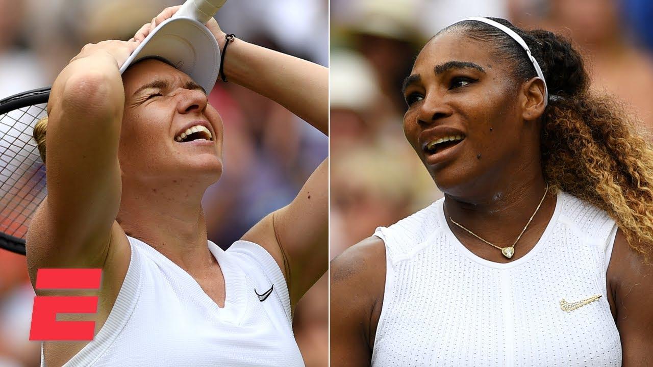 Simona Halep Defeats Serena Williams To Win Her First Wimbledon Title