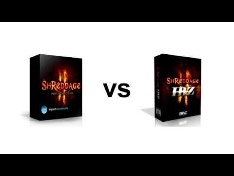 Shreddage 2 vs. Shreddage 2 IBZ: Head-to-Head Comparison