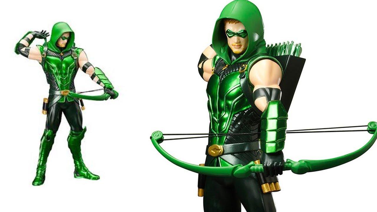 Green Arrow Artfx+ Statue, DC Universe Animated Figures ...