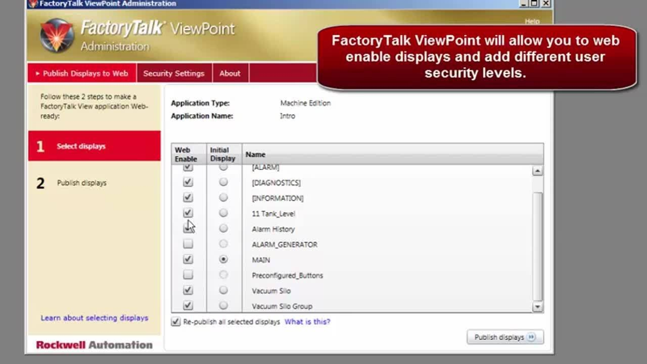 PanelView Plus & FactoryTalk View ME Introduction - 7 - Remote Access -  Viewpoint vs VNC