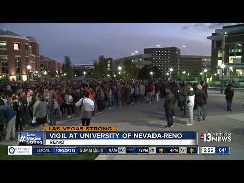 University of Nevada-Reno holds vigil