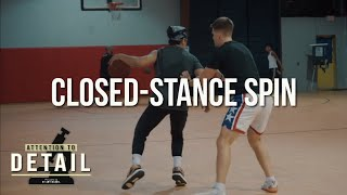Closed-Stance Spin Move 🔬 Blow Past Aggressive Defenders
