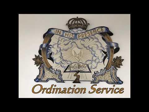 Ordination Service Elder Archie Wilson and Richard Farley