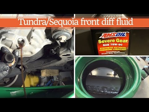 How To ChangeCheck Gear Oil In Rear Differential In