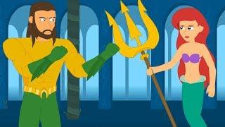 Aquaman vs The Little Mermaid