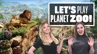 Let's Play Planet Zoo Live: NO MORE LION AROUND