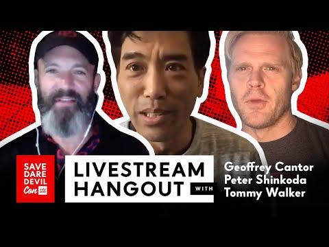 Livestream Hangout w/ Geoffrey Cantor, Peter Shinkoda, Tommy Walker