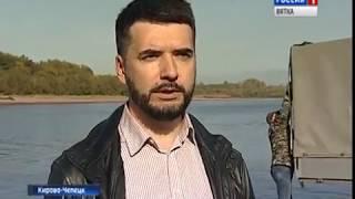 В Вятку выпустили молодую стерлядь (ГТРК Вятка)