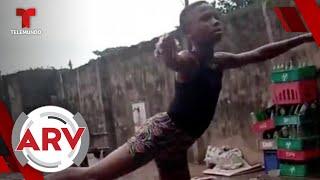 Niño que bailó ballet descalzo en la lluvia recibe insólita sorpresa | Al Rojo Vivo | Telemundo
