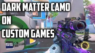How to get Dark Matter Instantly On Custom Games | BO3 Tutorial