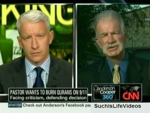 AC360 - Pastor Terry Jones Wants To Burn Qurans On 9/11