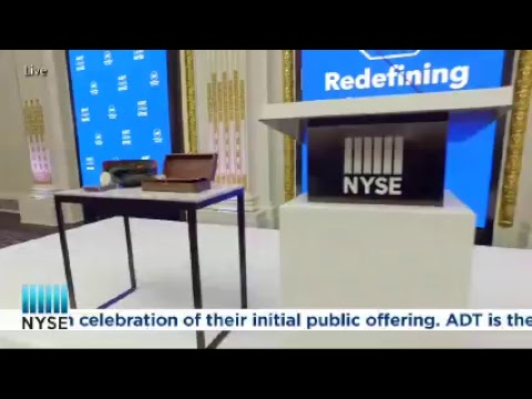 It's safe to say you can watch ADT ring today's Opening Bell in celebration of their IPO
