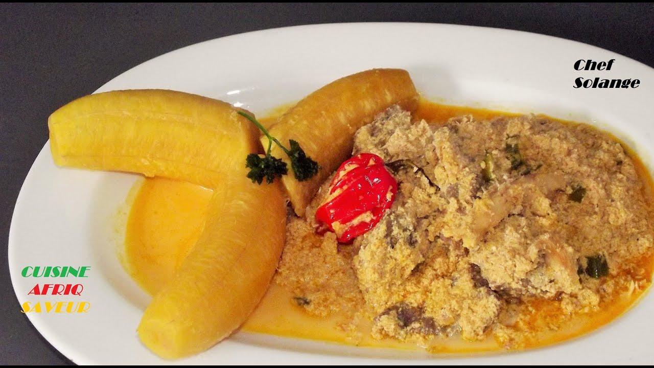 Sauce de pistache graines de courges cameroun youtube - Recette de cuisine ivoirienne gratuite ...