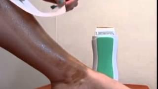 Депиляция ног кассетным воском