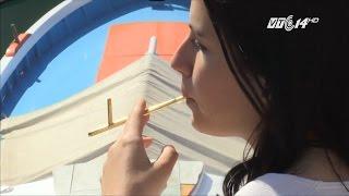 (VTC14)_Phát minh loại tẩu hút thuốc thay thế thuốc lá điện tử