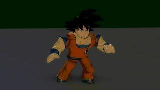 [Roblox Short Animation] Goku goes Super Saiyan + Extra