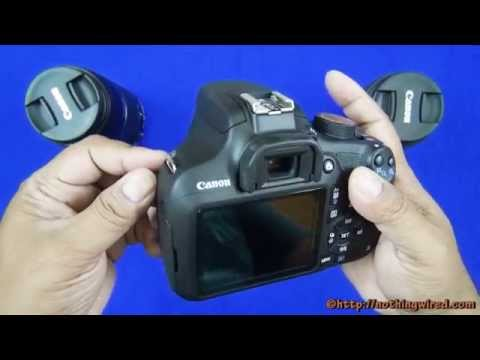 Canon Eos 1200d Rebel T5 Unboxing Full Review Features