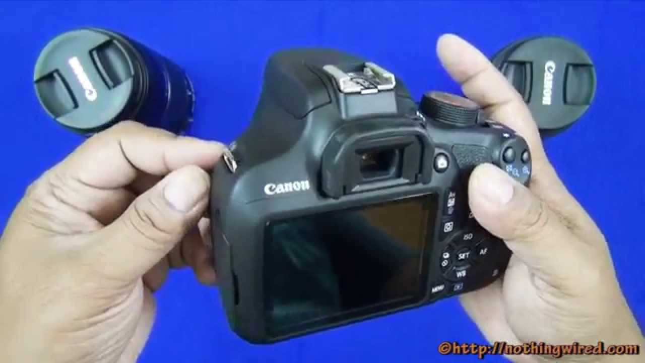 Canon Eos 1200d Rebel T5 Unboxing Full Review Features Controls Still Video Performance