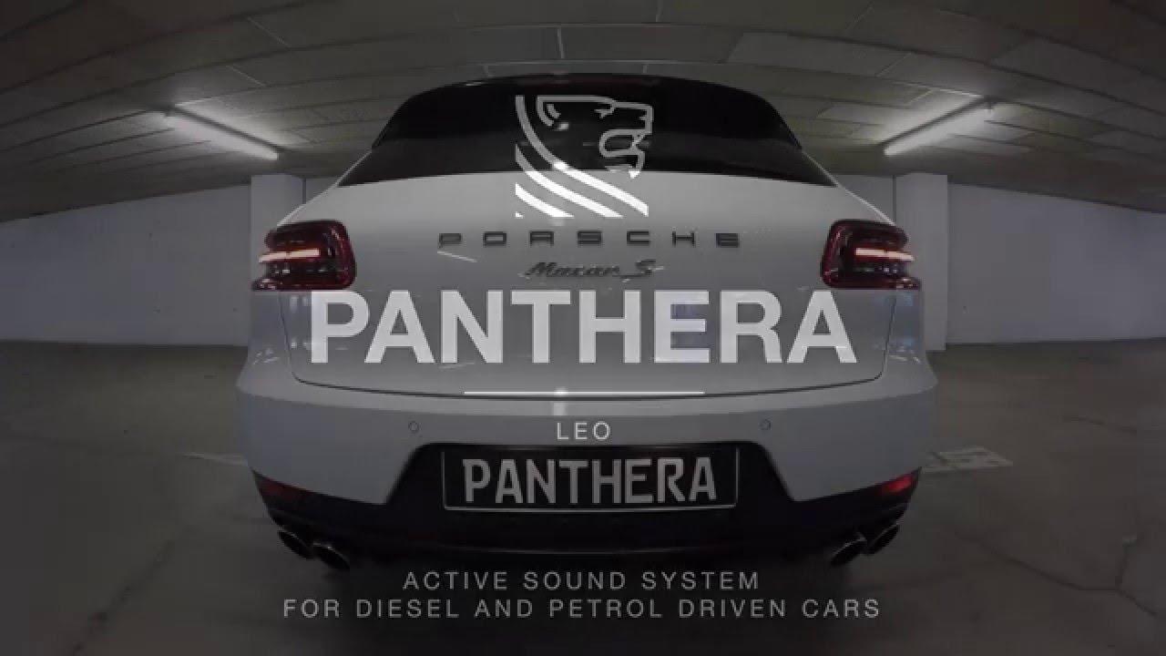 porsche macan s diesel mit panthera leo v8 active sound. Black Bedroom Furniture Sets. Home Design Ideas