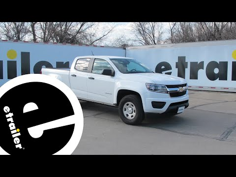 Installation of a Trailer Wiring Harness on a 2016 Chevrolet Colorado - etrailer.com