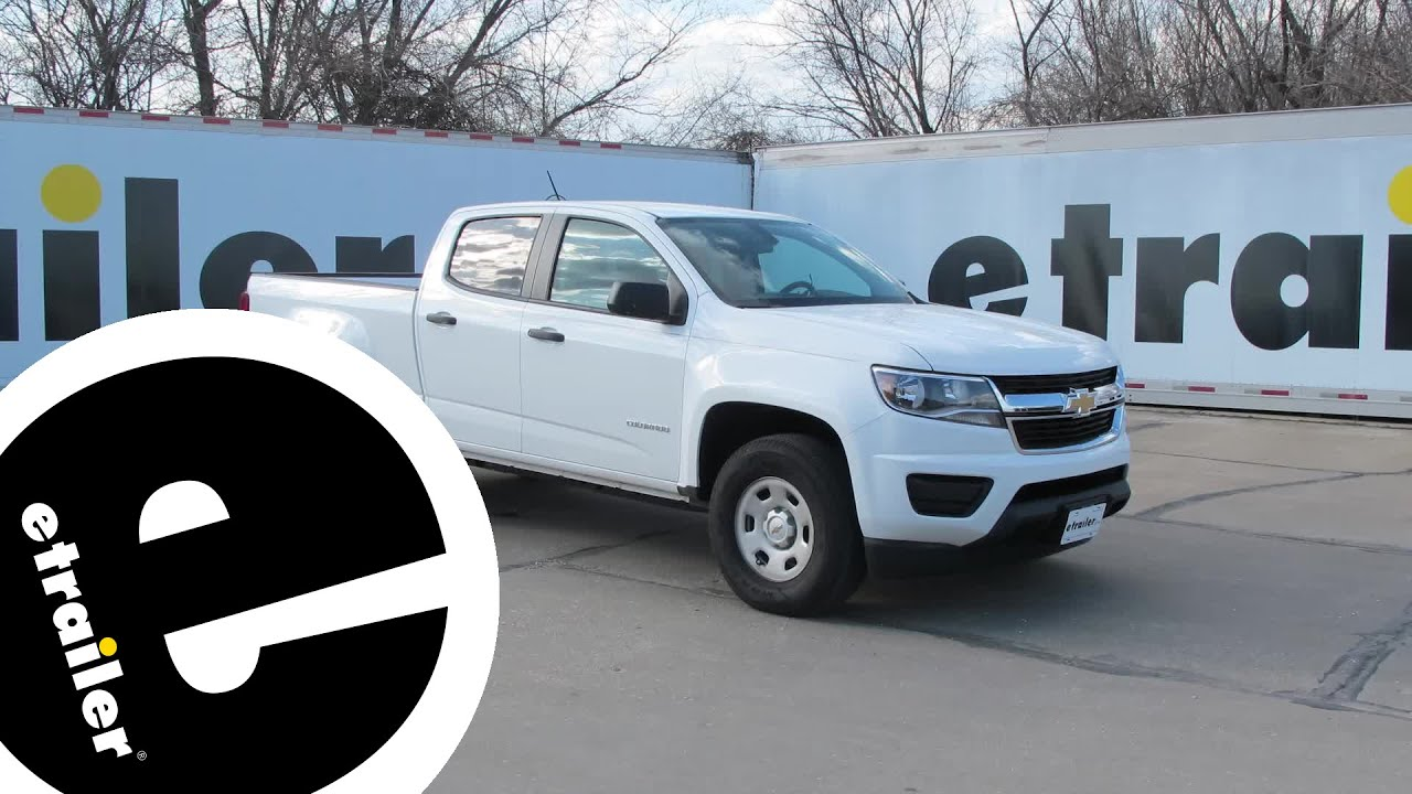 maxresdefault installation of a trailer wiring harness on a 2016 chevrolet 2015 chevy colorado wiring diagram at highcare.asia