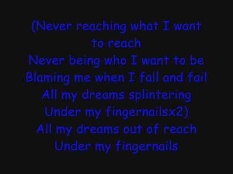 Skillet: Fingernails Lyrics