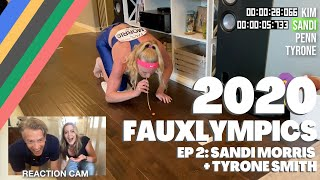 2020 Fauxlympics | Penny Race with Sandi Morris & Tyrone Smith