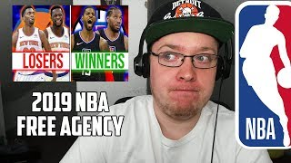 Reacting To 20 Winners and Losers This NBA Off Season