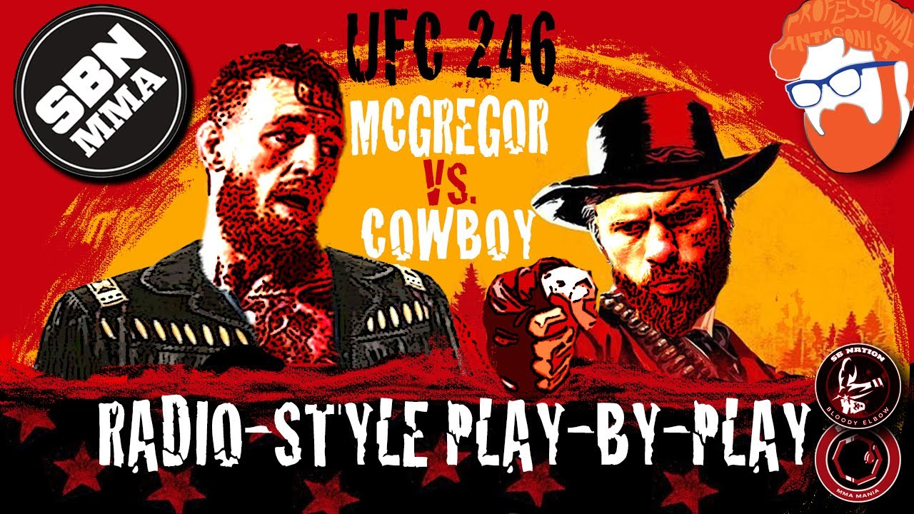 Ufc 246 Results Mcgregor Vs Cowboy Live Stream Play By