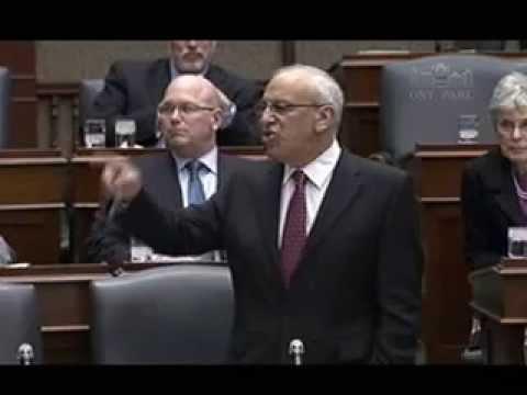 Shurman debates Liberal-NDP 2013 Provincial Budget