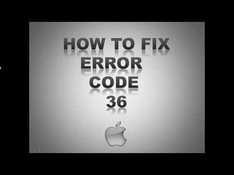 Error code -36 - How to fix Mac Error Code 36