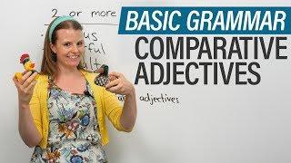 English Grammar: Comparative Adjectives