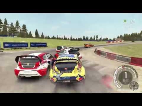 Dirt Rally - RallyCross Gameplay - Sweden