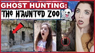 Ghost Hunting At A Haunted Zoo! | Collab With Sophia Grace