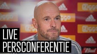 Bekijk persconferentie voor Ajax – PAOK met Erik ten Hag en Daley Blind