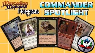 MTG – Mercadian Masques & Nemesis EDH/Commander Deck Tech Spotlight for Magic: The Gathering!