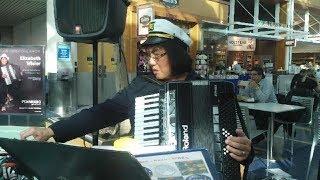 """Liz Wisler plays """"Italiana""""  Port of Portland PDX Int'l Airport  03.29.18 thumbnail"""
