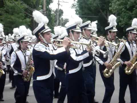 LT Marching Band Memorial Day Parade 2009
