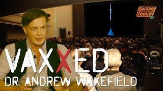 VAXXED in Berlin - Publikumsdiskussion mit Dr. Andrew Wakefield