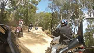 CCJMC December Ride 2013 - GSXR Gravel Crash!!