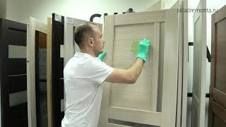 видео Межкомнатные двери из МДФ